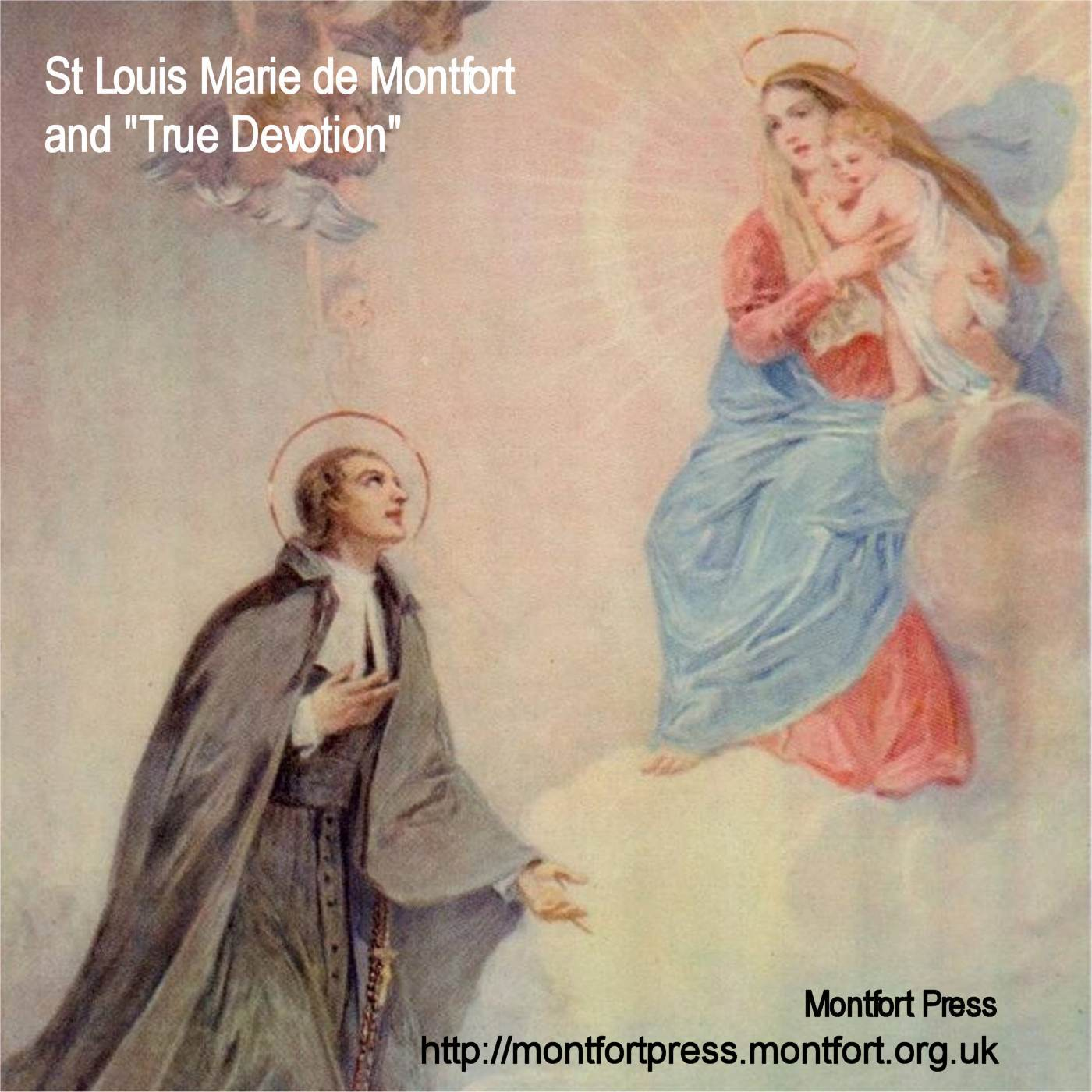 St Louis Marie de Montfort and
